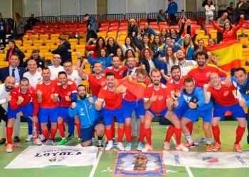 España campeona del mundo de futbol sala para sordos