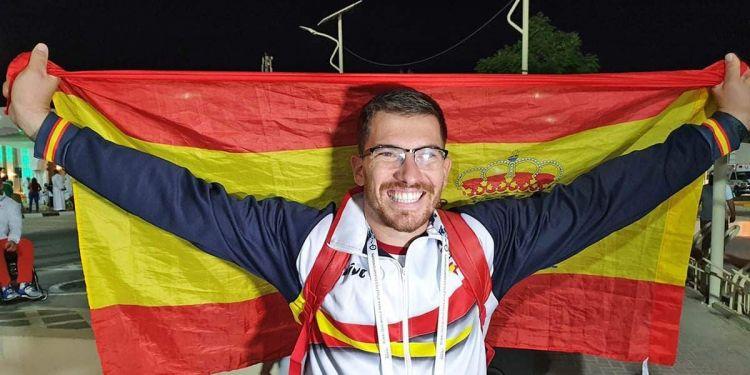 Héctor Cabrera logra la medalla de plata en Jabalina en el Mundial Paralímpico
