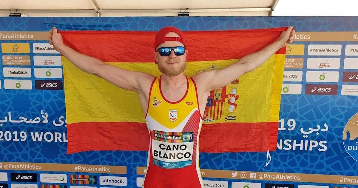Iván Cano conquista el bronce en longitud de los Mundiales de Atletismo Paralímpico de Dubái    Foto de EuropaPress