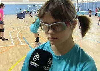 Otros Deportes El voleibol se vuelca para que Laia, una niña con Síndrome de Down, juegue la Copa de España   Foto de Antena3