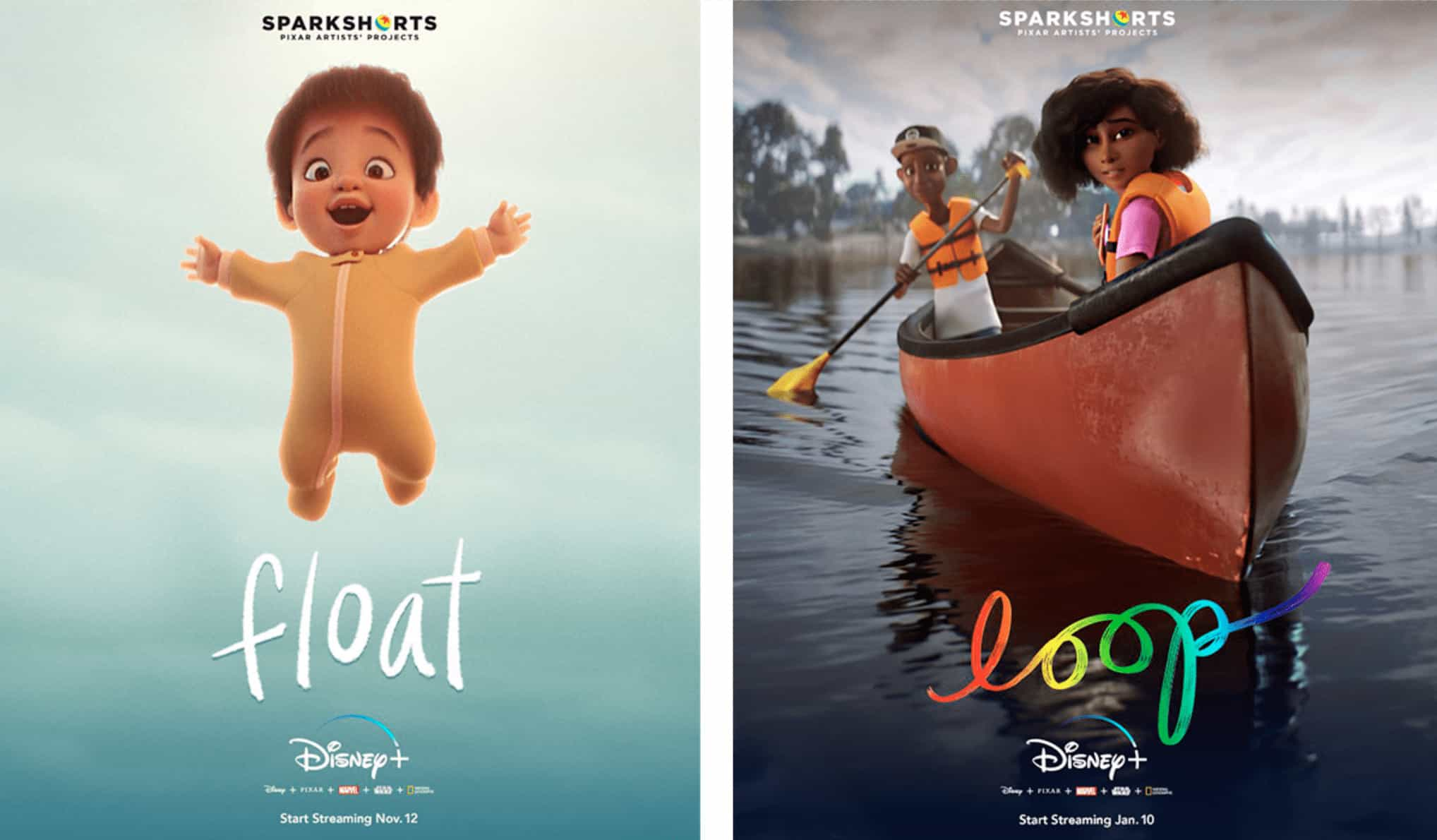 Loop y Float Cortometrajes Pixar
