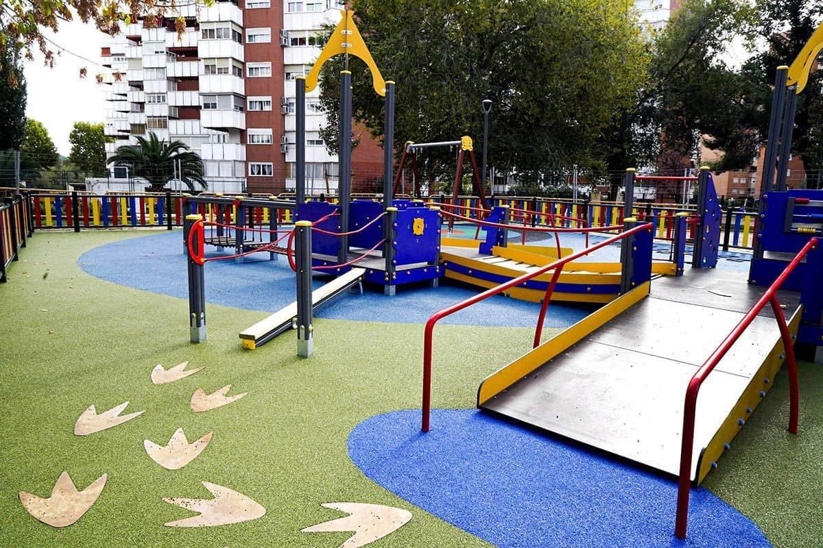 Parque infantil inclusivo | Ayuntamiento de Móstoles