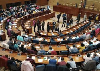 Personas con discapacidad intelectual reivindican en la Asamblea inclusión y que se escuche su voz