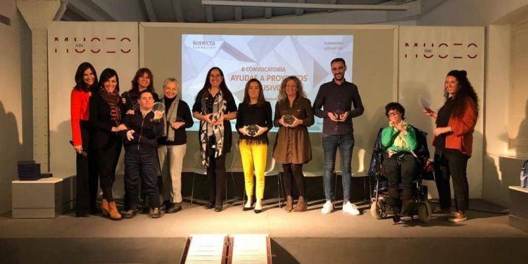 Premiados Fundación Universia y Konecta