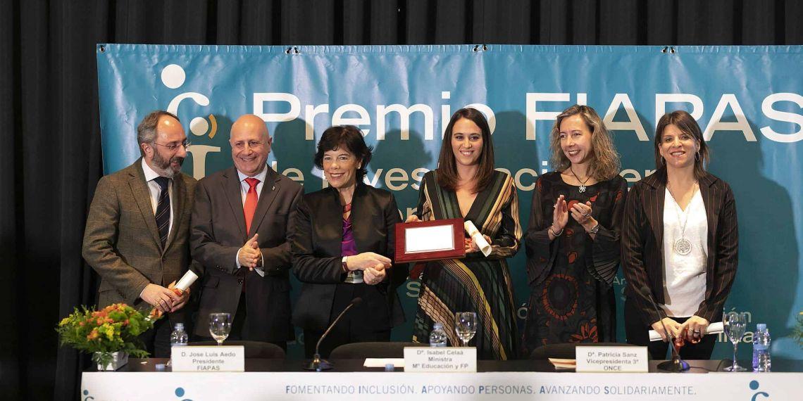 Galardonados Premio FIAPAS