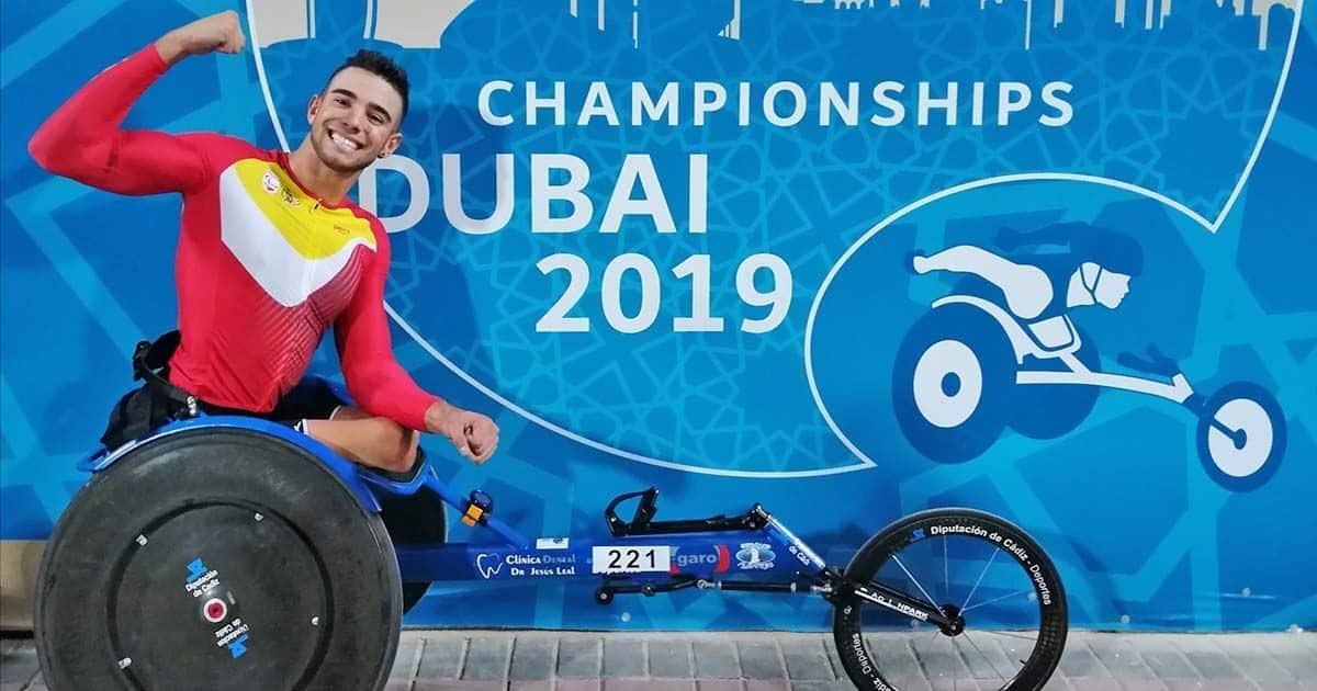 José Manuel Quintero participará en el Campeonato del Mundo de Atletismo de Dubái