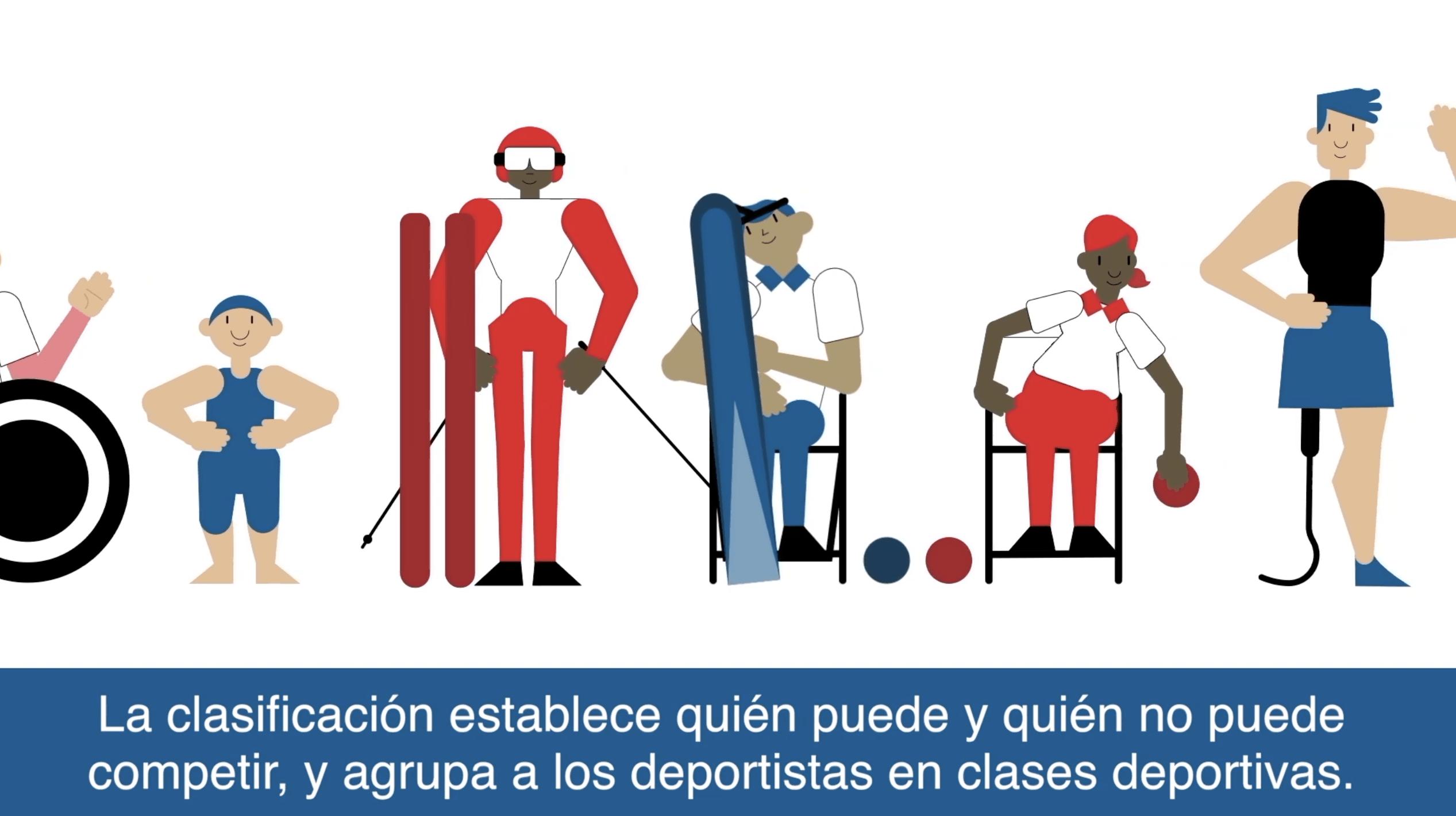 Ilustraciones de deportistas
