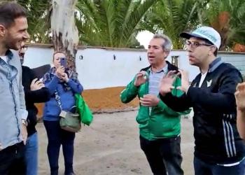 Joaquín con personas