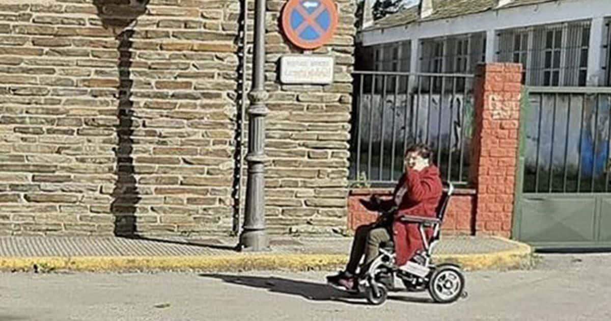 madre del niño con discapacidad