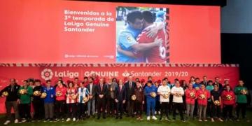 Presentación de la nueva temporada de la LaLiga Genuine Santander
