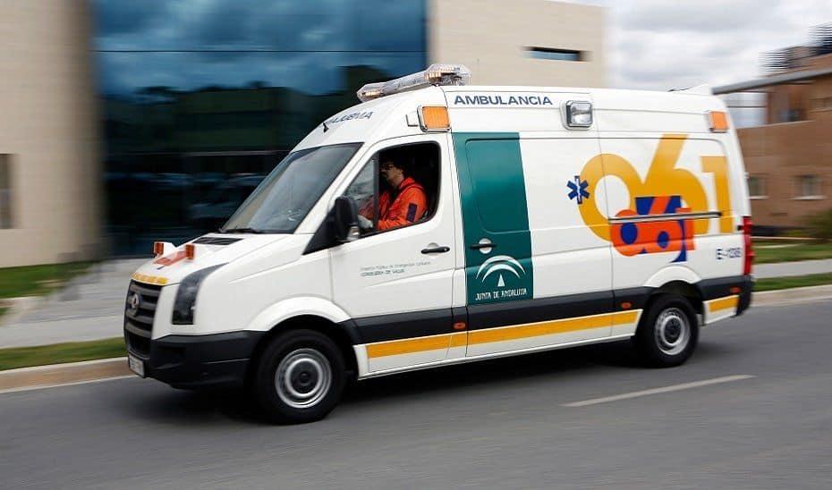 Ambulancia en una imagen de archivo - 112