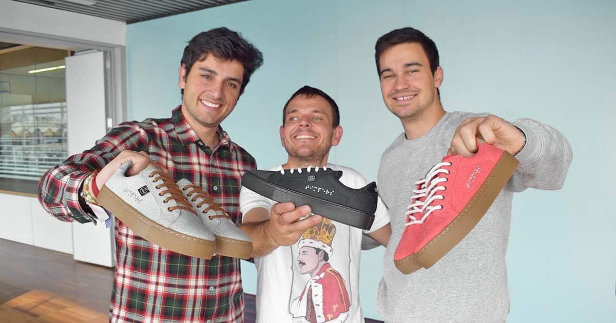 Roberto, Diego y Aitor, el equipo de Timpers