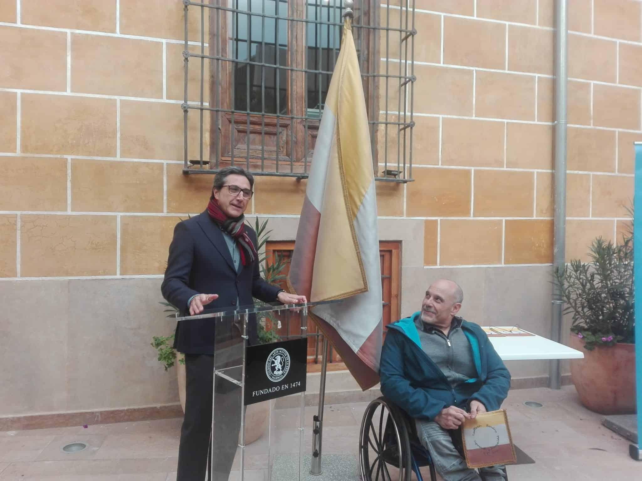 Exaltación de la Bandera de la Superación y la Discapacidad