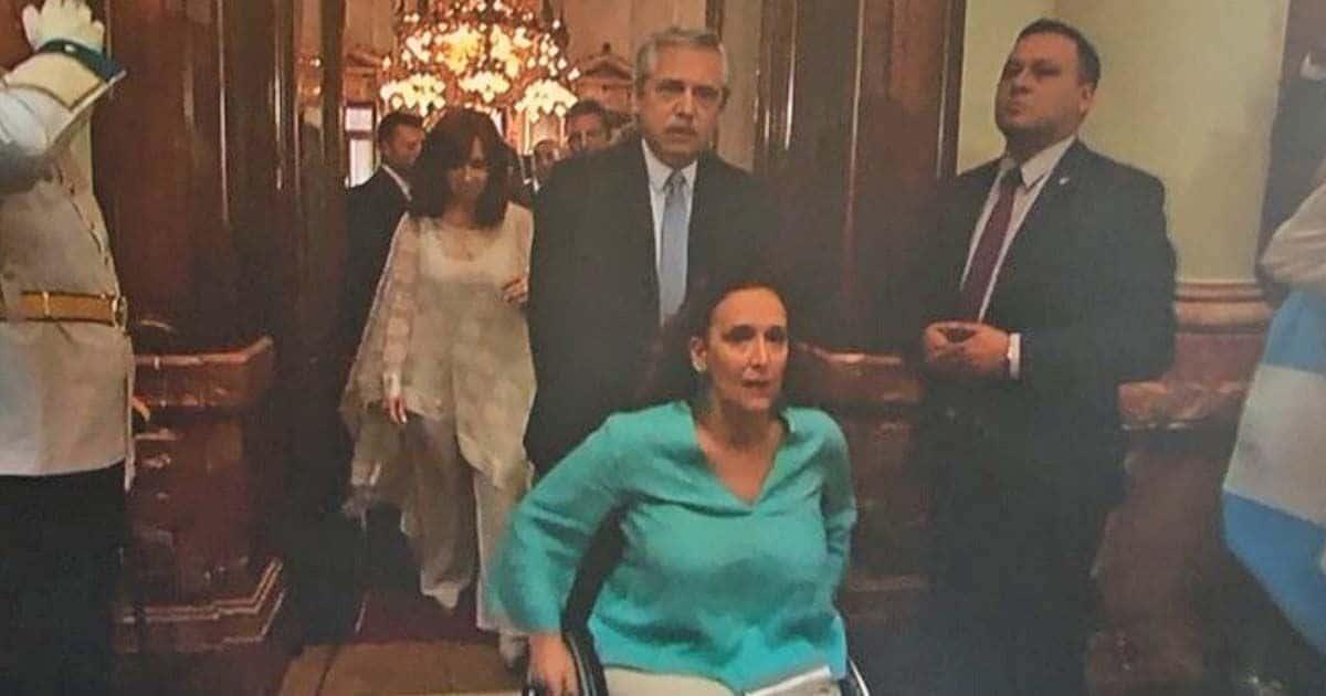 La ex vicepresidenta de Argentina, Gabriella Michetti