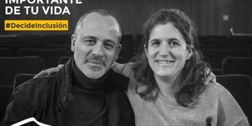 Cartel campaña con Javier Fesser