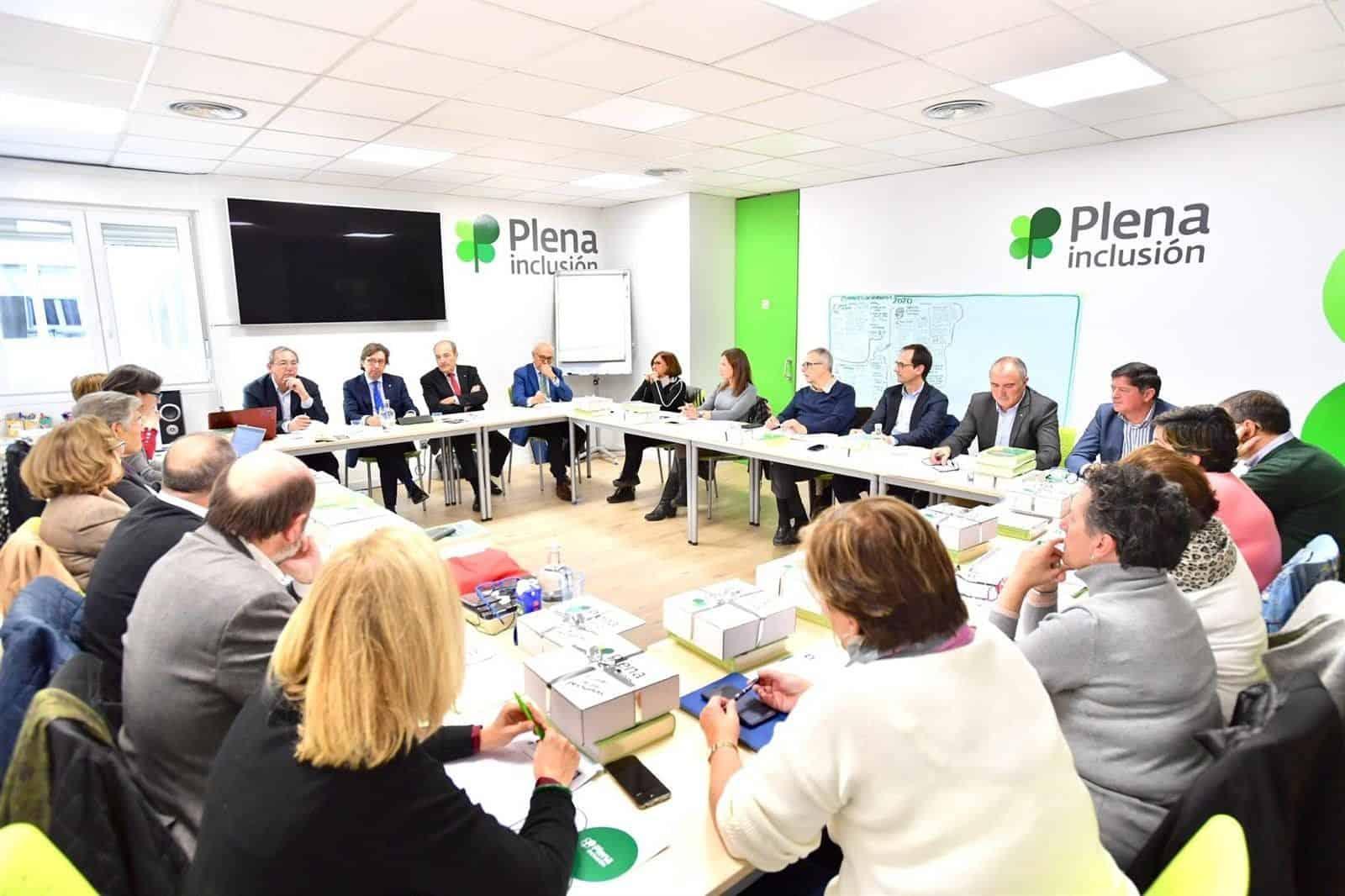 La Junta Directiva de Plena Inclusión España - PLENA INCLUSIÓN ESPAÑA