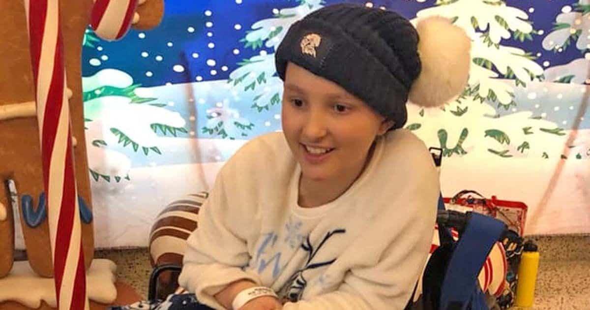 La joven Chloe Cross superó el cáncer