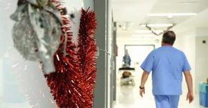 Los ángeles de la guarda de la salud en Navidad
