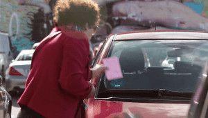 Multas Fake aparcamiento de personas con movilidad reducida