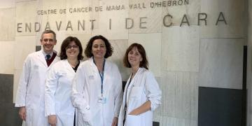 Santiago Escrivá, Mafalda Oliveira, Cristina Saura y Laia Garrigós del VHIO - VHIO
