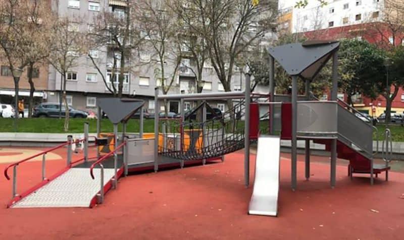 Parque infantil Salamanca