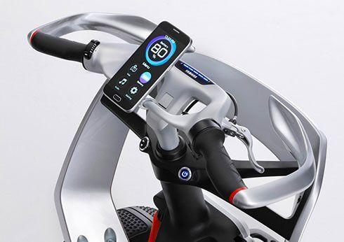 Yamaha YNF01 manillar