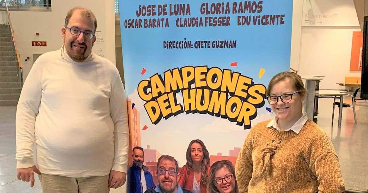 Actores Gloria Ramos y Jose de Luna en Bilbao   Foto: EP