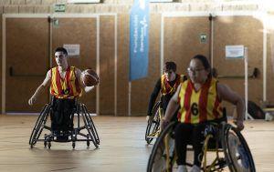 Selección catalana de baloncesto en silla de ruedas