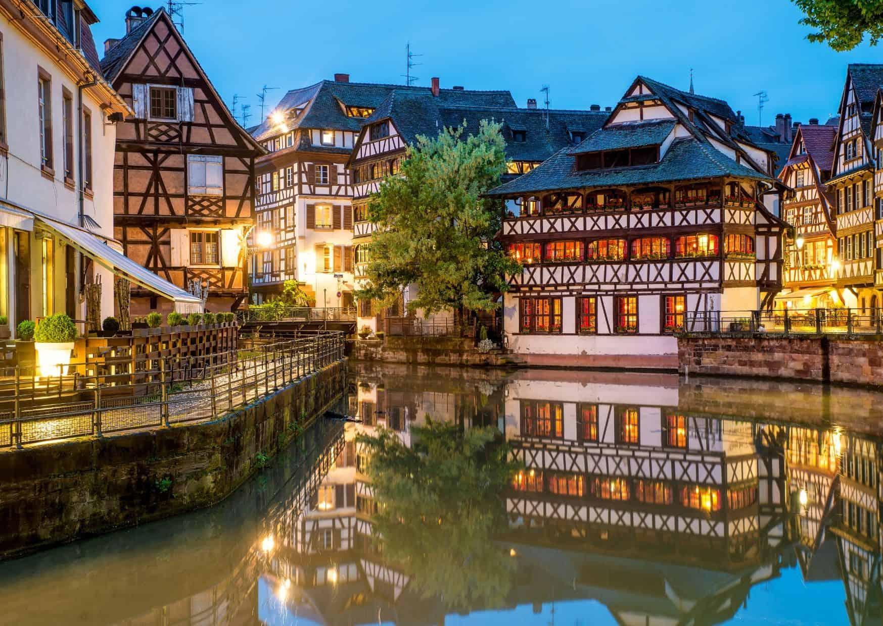 Visitar Estrasburgo en silla de ruedas.