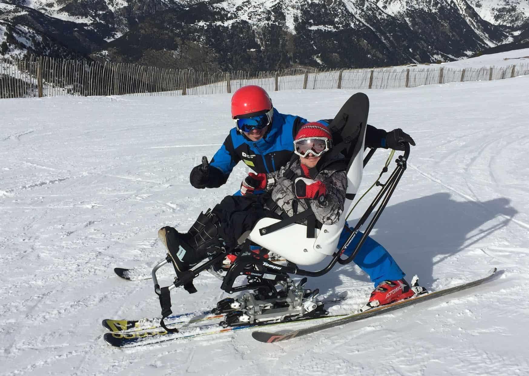 Esquí Adaptado Andorra.