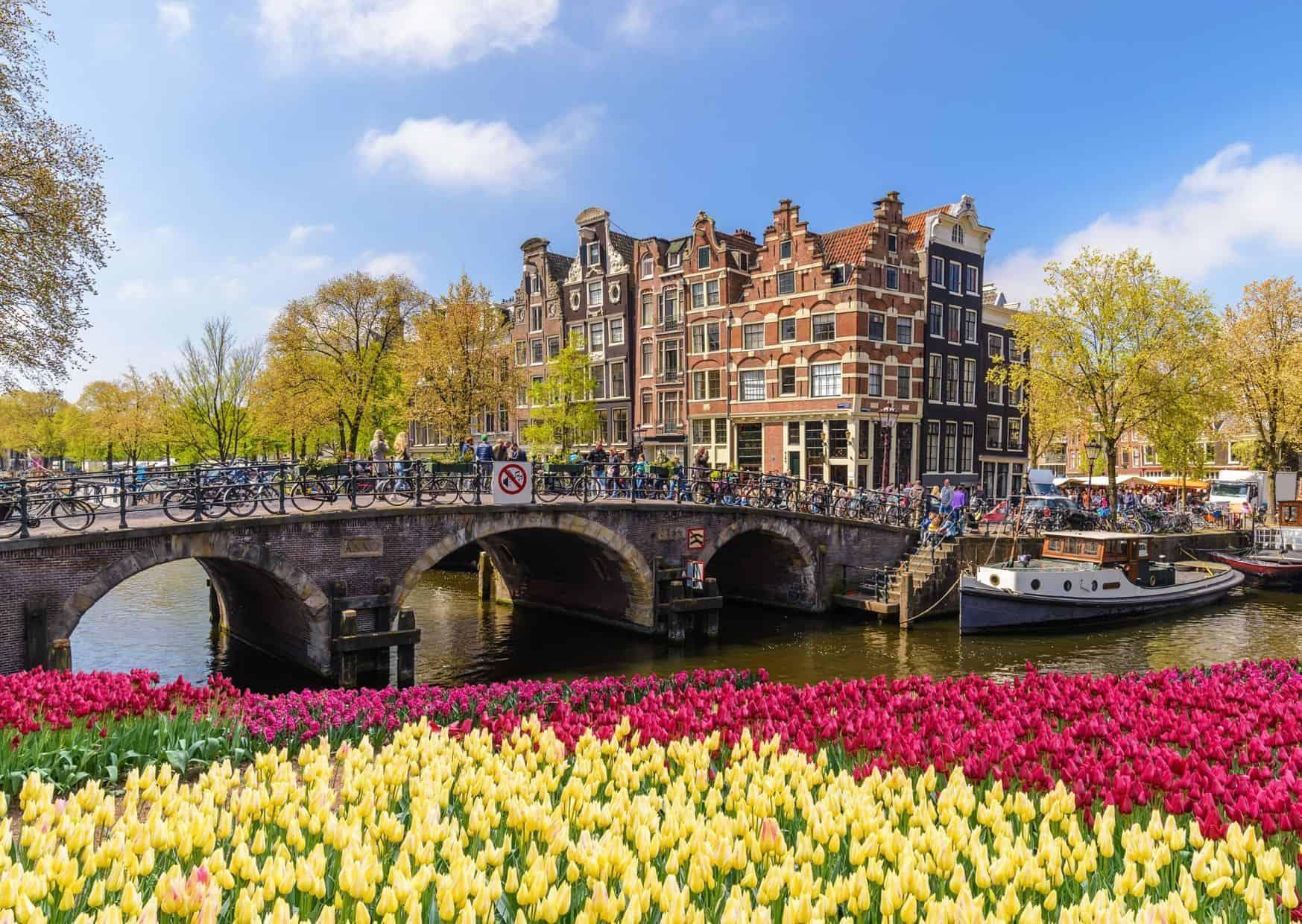 Visitar Ámsterdam en silla de ruedas.
