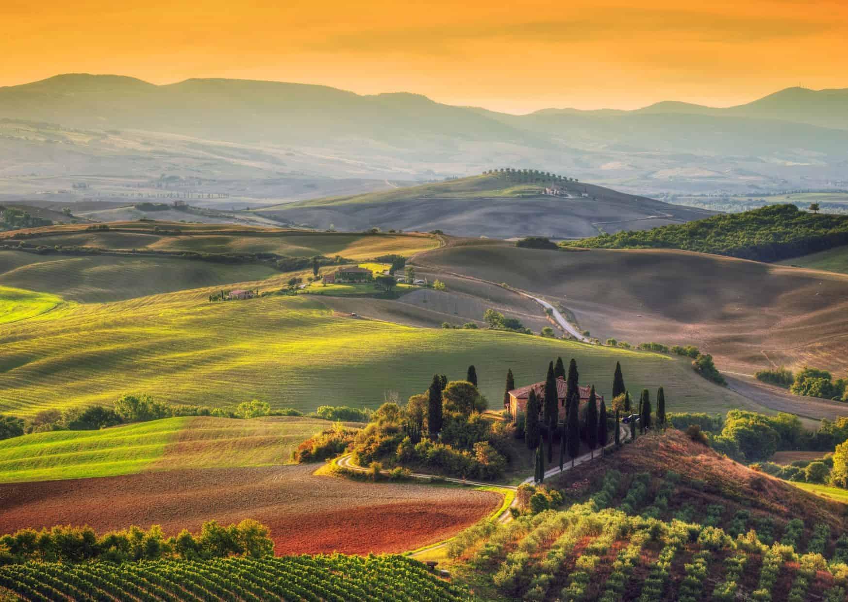 La Toscana en silla de ruedas.