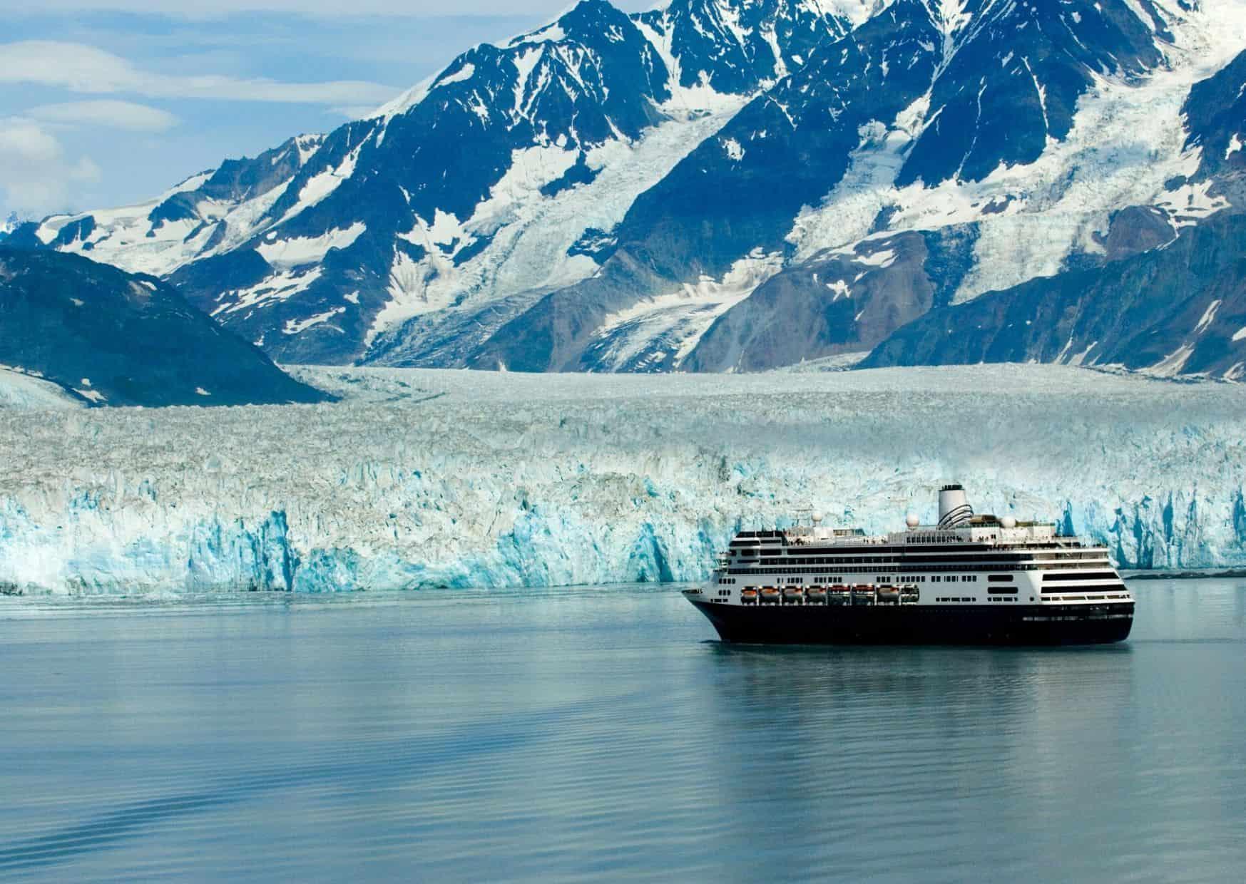 Alaska en un crucero accesible.