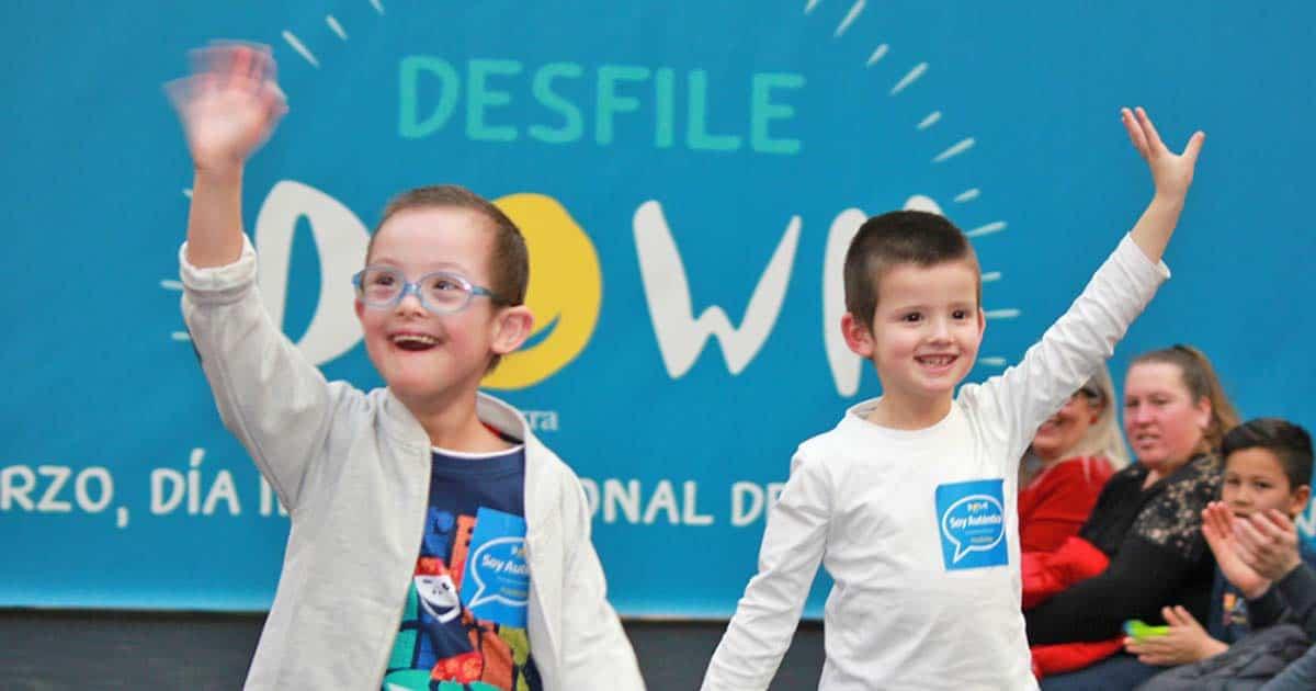Inclusión social de niños con síndrome de down