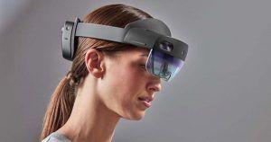 Las gafas de realidad virtual, HoloLens, permiten a las personas con discapacidad visual mejorar su interacción con el entorno social