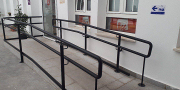 Rampa accesible