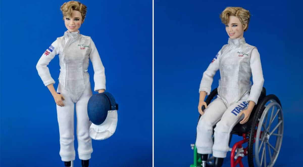 Muñeca Barbie inspirada en Bebe Vio