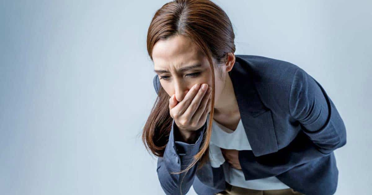 Nauseas tras una intoxicación alimentaria