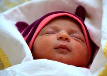 bebé dormido síndrome de Down
