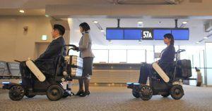 Silla de ruedas autónomas del aeropuerto de Tokio