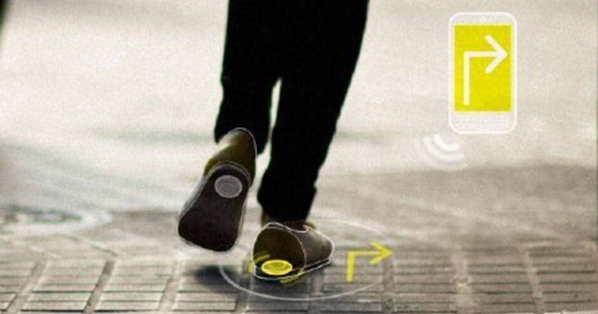 Zapatos con GPS para personas con alzheimer.