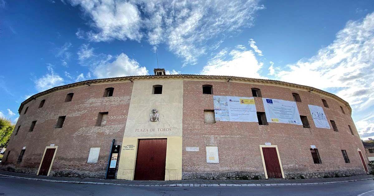Exterior de la Plaza de Toros de Aranjuez