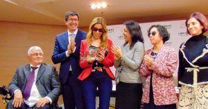 La parlamentaria de Cs Mercedes López recibe el Premio Cermi por su ejemplo como mujer con discapacidad en la política