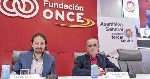 Pablo Iglesias y Luciano Poyato