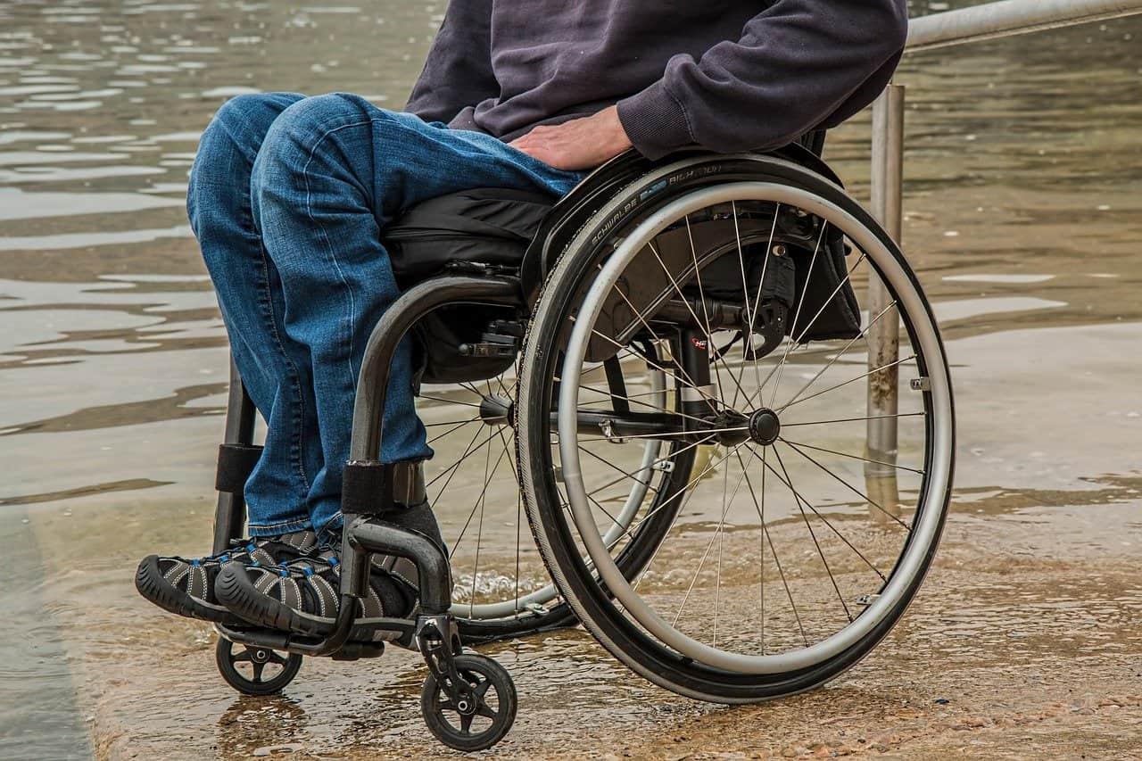Silla de ruedas - discapacidad