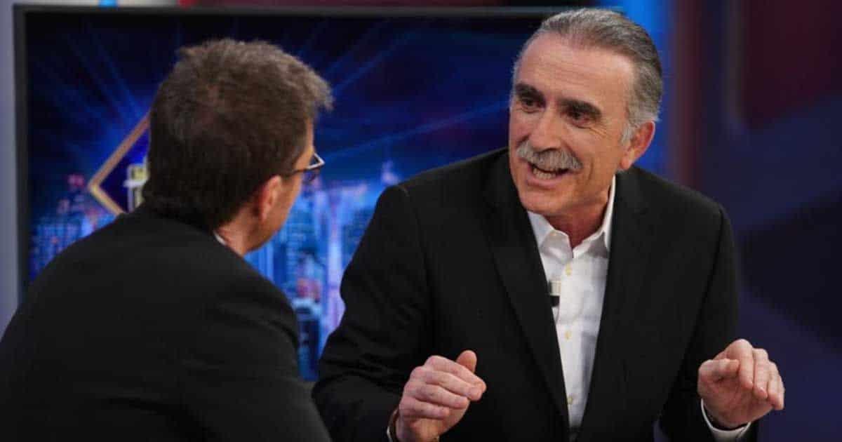 Juan y Medio durante su entrevista en 'El Hormiguero'