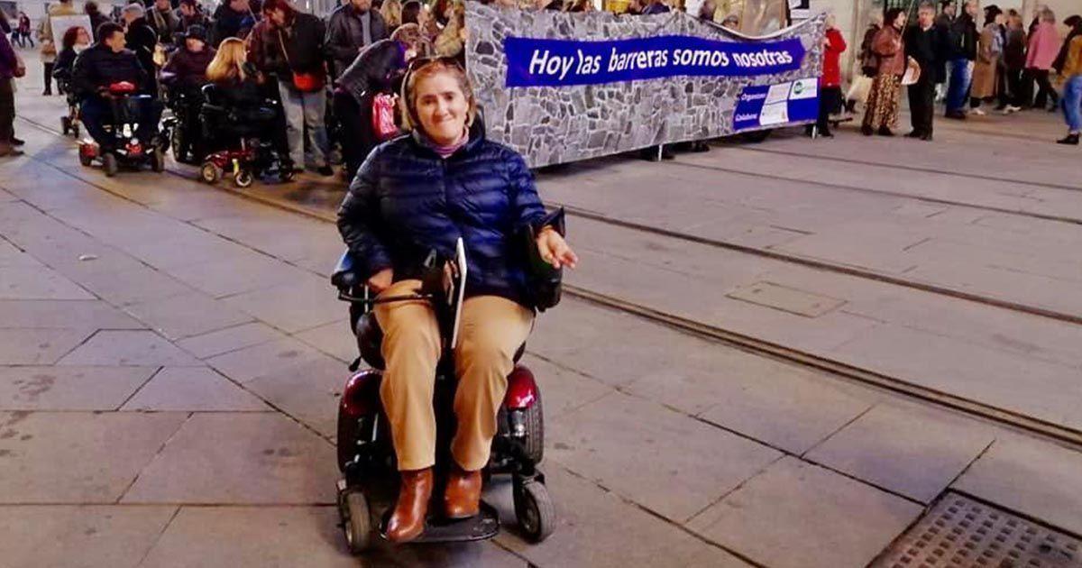 Rocío, mujer con parálisis cerebral que se muestra en contra de la Eutanasia