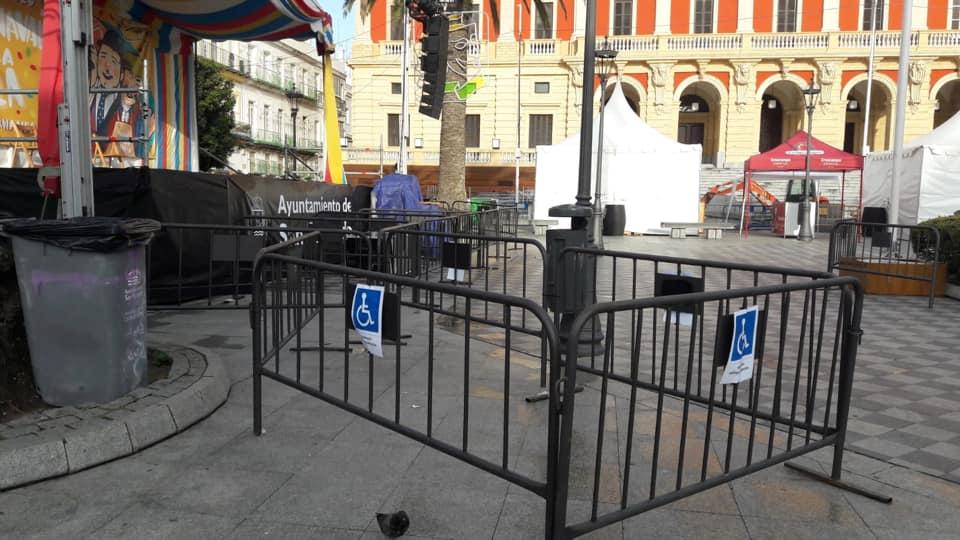 Cerramiento para personas con movilidad reducida