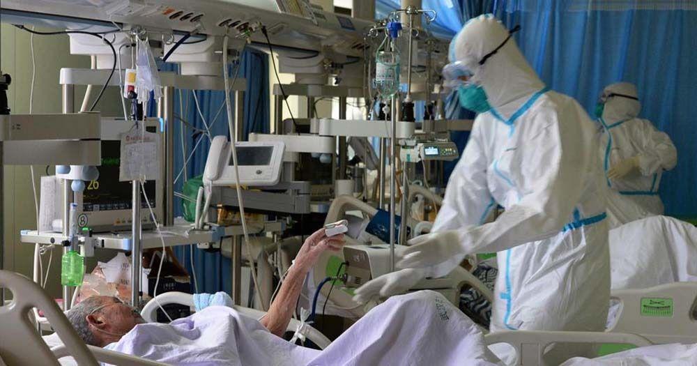 Enfermo de coronavirus en Sanidad
