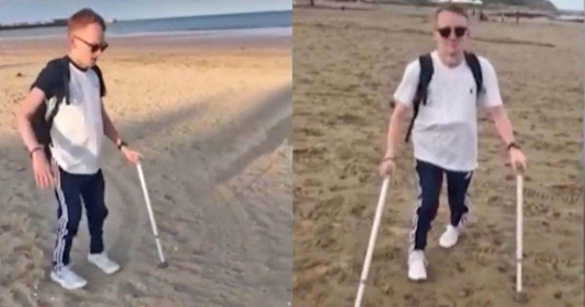 Liam vuelve a caminar tras 13 años en silla de ruedas por un cáncer de columna